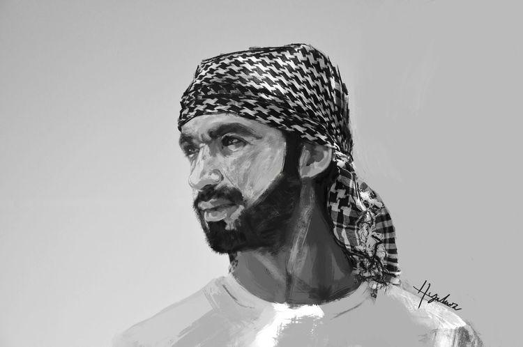 Selfportrait Digital Painting Digital Art Art, Drawing, Creativity Selfportrait PhotoShopCs6