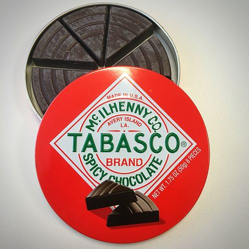 Spicy Chocolate Tabasco Delicious Gift Travel Taiwan Live To Eat Enjoying Life Thankful Tabascosauce