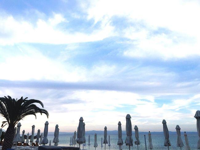 Seaside Summer Greece TimeForMyself Sunny Blueness Panorama Seascape Sunset Sea And Sky Sea Blue Sea Blue