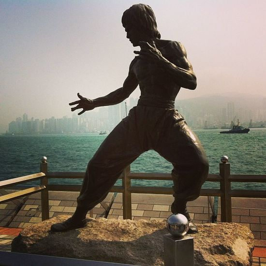 Statue of Jackie Chan