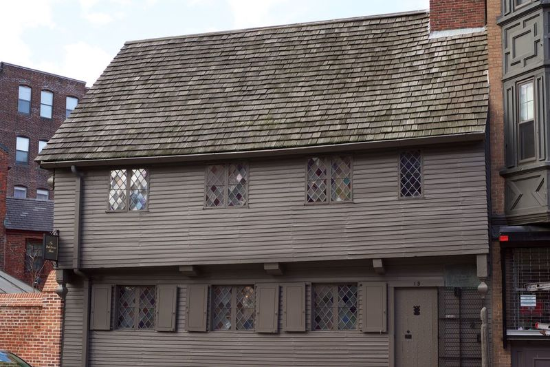 Paul Revere's House 1775 1776 Boston Boston, Massachusetts Militia North End Paul Revere Paul Revere House Revolution Constitution Massachusetts Revere Revolutionary War First Eyeem Photo