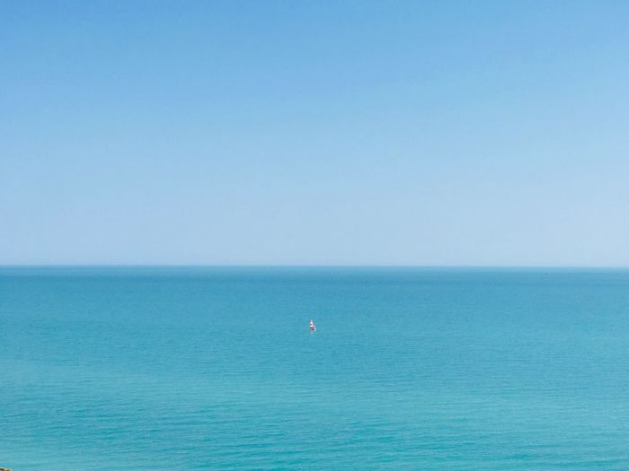 Sea Water Horizon Over Water Horizon Blue Scenics - Nature Sky