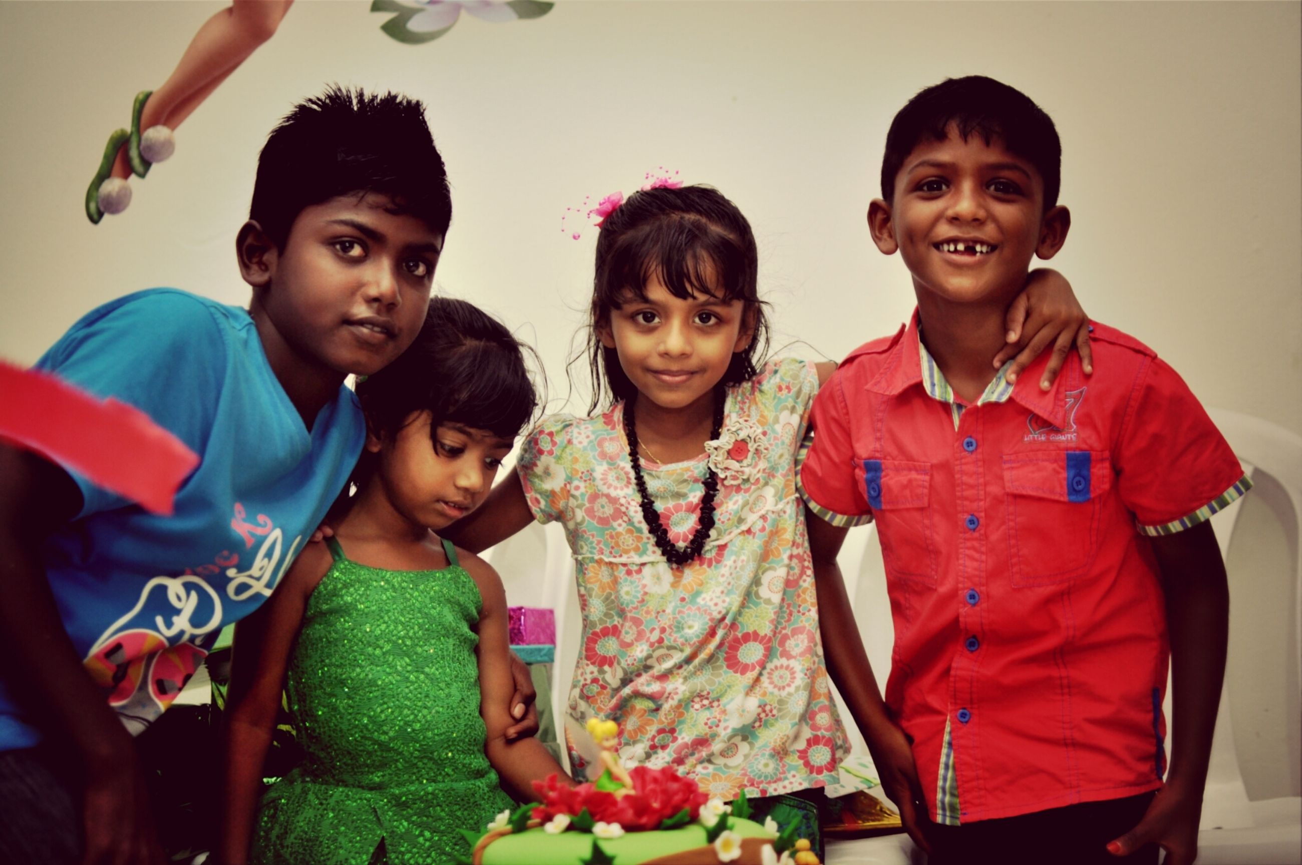 togetherness, bonding, lifestyles, love, happiness, person, leisure activity, portrait, friendship, smiling, looking at camera, family, casual clothing, front view, sister, fun, sibling, boys