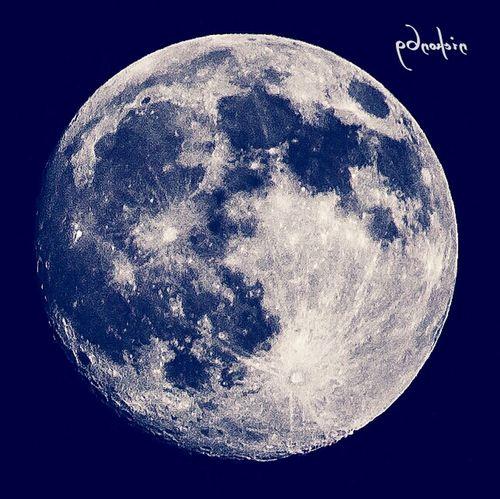 Moon Full Moon Darkside Sky