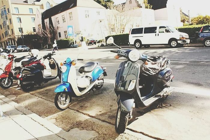 Mopeds Are  A Dream.