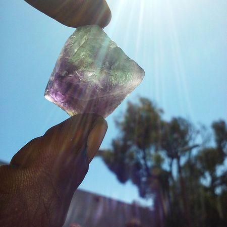 Fluorite Gems Crystals Love Light Cleanse Consciousness Mothernature Ohm Natural Nofilter Rocks Hippie Magic Universe Universallove Vibration Energy Jewelry Follow F4F Like Instafollow