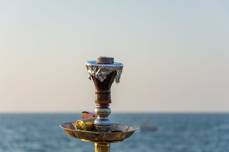 hookah beach Beauty In Nature Clear Sky Close-up Day Hookah Horizon Over Water Mid-air Nature No People Outdoors Scenics Sea Sky Streetphotography The Street Photographer - 2017 EyeEm Awards Water Sommergefühle EyeEm Selects