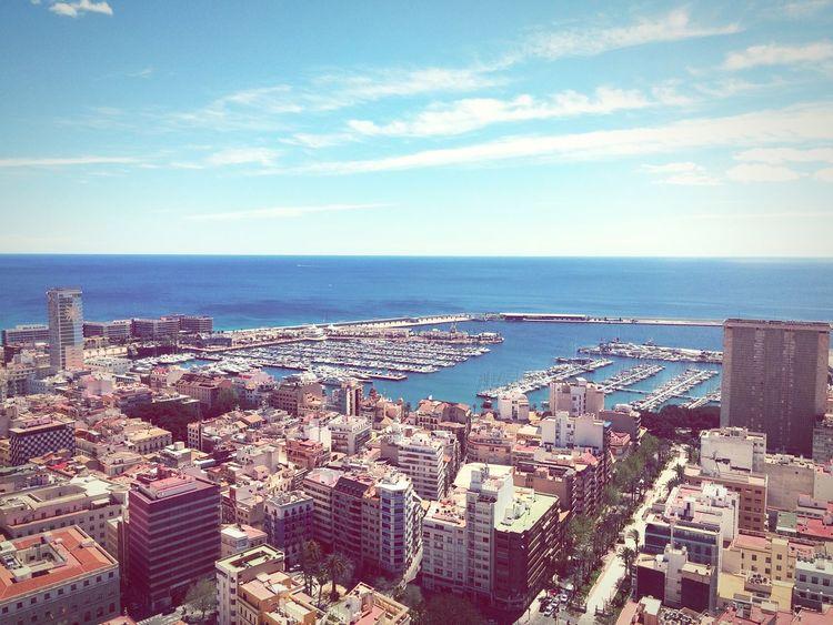 Taking Photos Hello World Relaxing Hi! City SPAIN Alicante España Photography Movil Hollidays Mobilephotography Mediterraneo Altura
