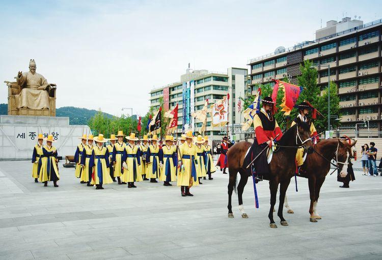 EyeEm Diversity Real People Palace Guards Korea