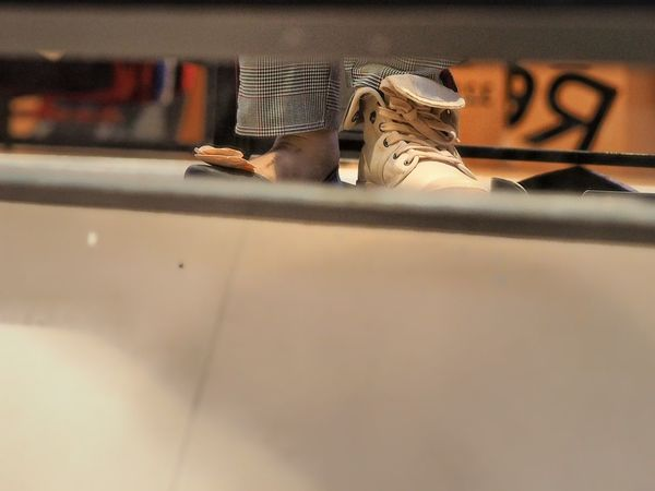 Try it, shoes. Indoors  Selective Focus Window Domestic Cat Day Pets No People Fashion Stories