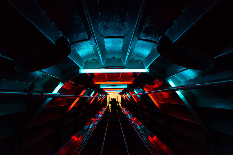 In the space tunnel