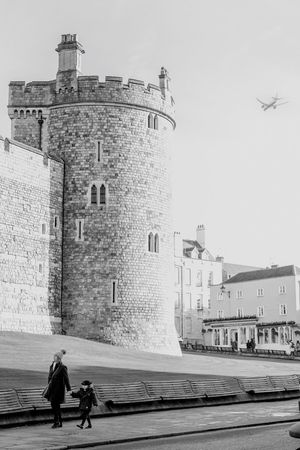 Windsor Castle Windsor Windsorcastle FUJIFILM X-T1 Bnw Small Town Seeing The Sights Photographic Memory Street Photography OpenEdit Fujifilm_xseries