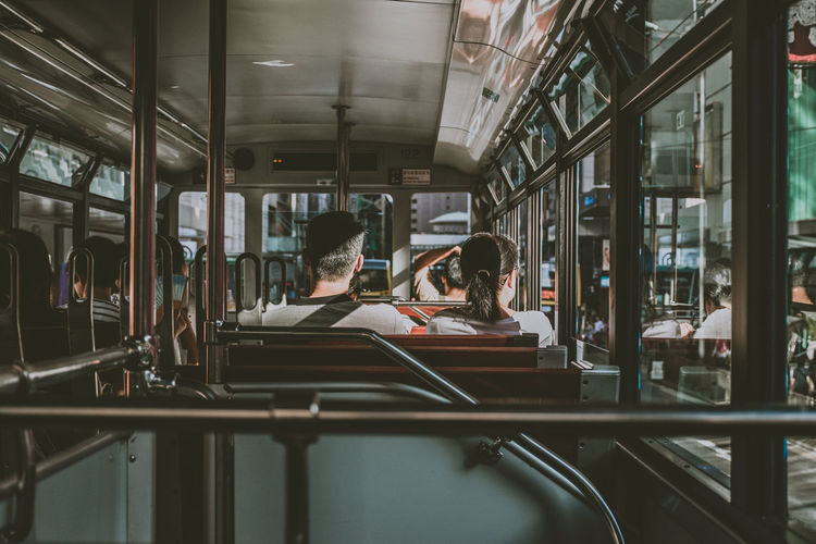 Hong Kong Relationship Tram Leisure Activity Public Transportation Real People Travel Destinations Two People Young Adult The Week On EyeEm Fresh On Market 2017