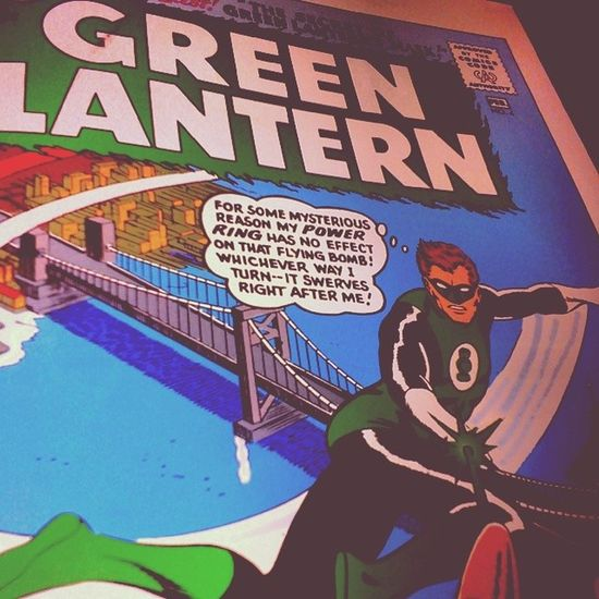 You're da one... Green Lantern  DC Fearless