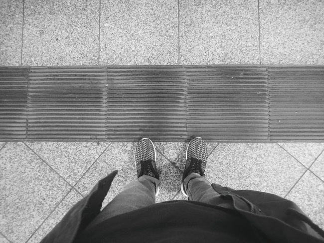 Fresh kicks. Notes From The Underground Monochrome Blackandwhite Pattern Patterns Lines Nike