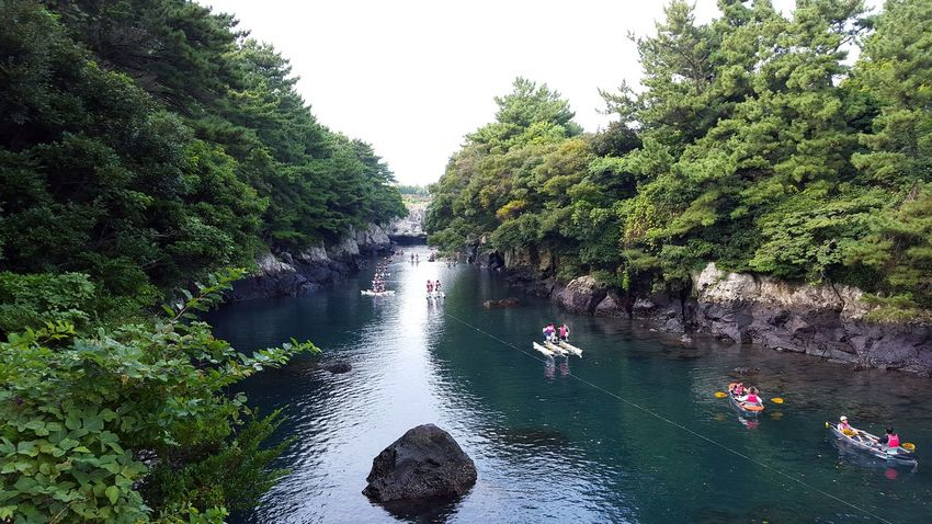 Soesokkak JEJU ISLAND  Jeju Korea Traveling Traveling In Korea 쇠소깍 제주도 3rd day of my Jeju trip! We went to Soesokkak for riding a water bike. Having so exciting time :)