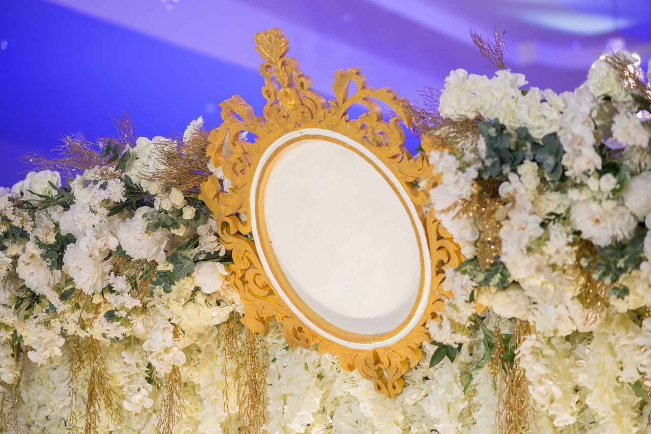 Close-Up Of Decoration During Wedding