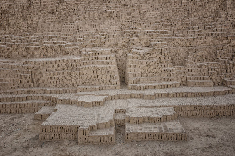 Lima-Perú Pucllana Ancient Cultures Architecture Built Structure History No People Pattern Solid Temple - Building Temple Architecture Wall - Building Feature