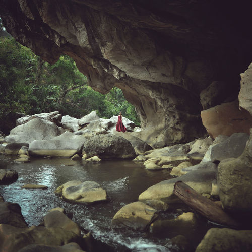 ' Lost World ' People Landscape Nature Stone Water Model Outdoors first eyeem photo Be. Ready. EyeEmNewHere