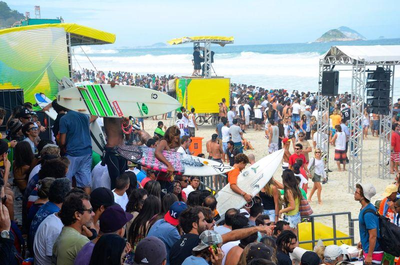 Arquibancada do Oi Rio Pro 2015  Barra Da Tijuca Rio De Janeiro Brazil RIO PRO Brasil Surf EyeEm Rio