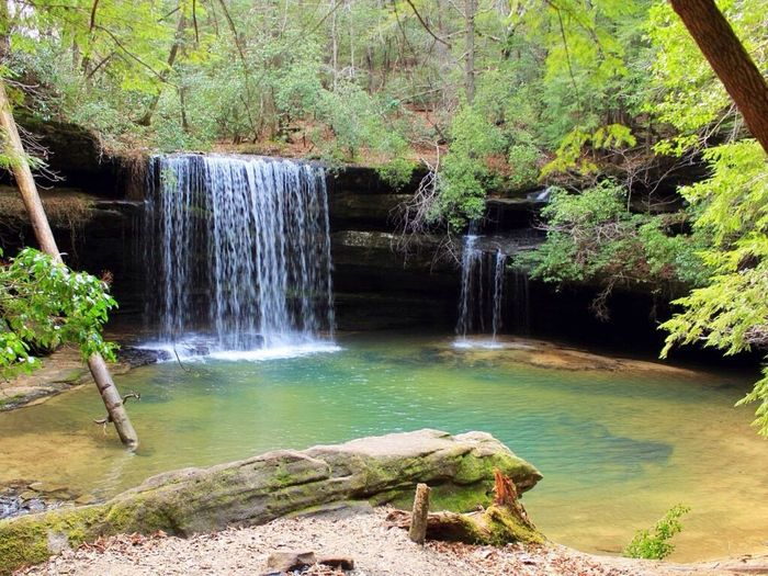 Waterfall Caney Creek Falls , Bankhead Forest , Alabama