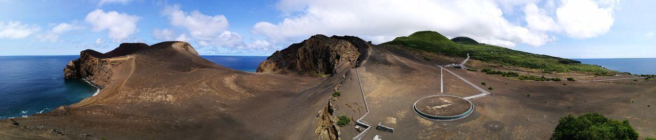 Beach Cloud - Sky Sand Sky Sea Day Outdoors Capelinhos Water Horizon Over Water No People Nature Wave Faial Island Faial Açores The Week On EyeEm The Great Outdoors - 2018 EyeEm Awards