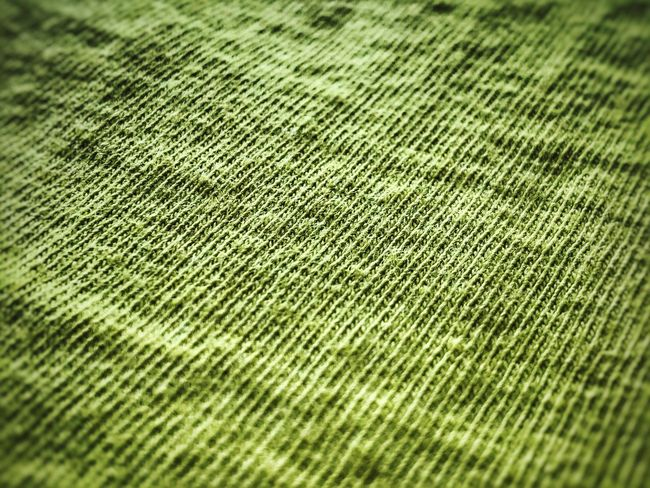 Cloth Backgrounds Full Frame Pattern No People Selective Focus Textured  Close-up Textile Green Color Day Detail Indoors  Rough Nature Blue Beauty In Nature High Angle View Garment