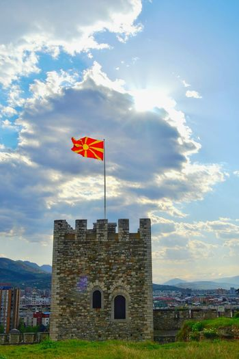 Macedonia Hello World Eye4photography  Macedonia Flag Flag EyeEm Best Shots EyeEm EyeEmBestPics Likeit Likeforlike