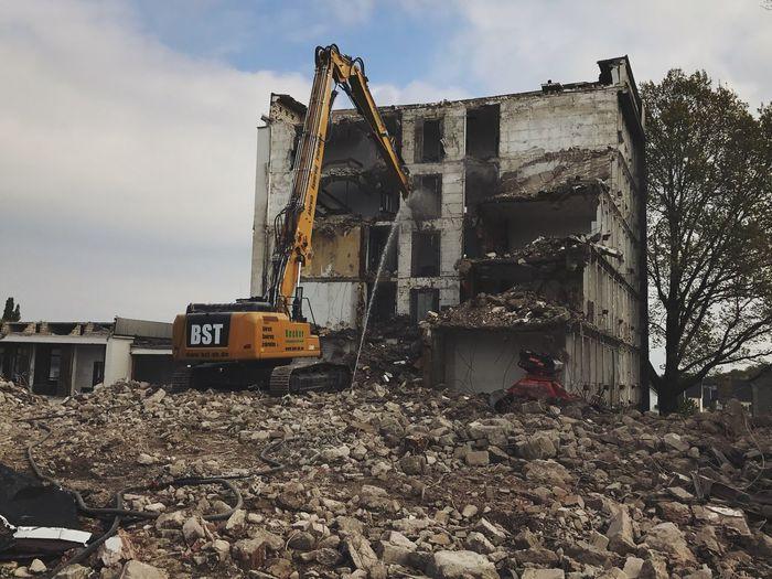 Abrissarbeiten Abriss Machinery Construction Industry Industry Construction Machinery
