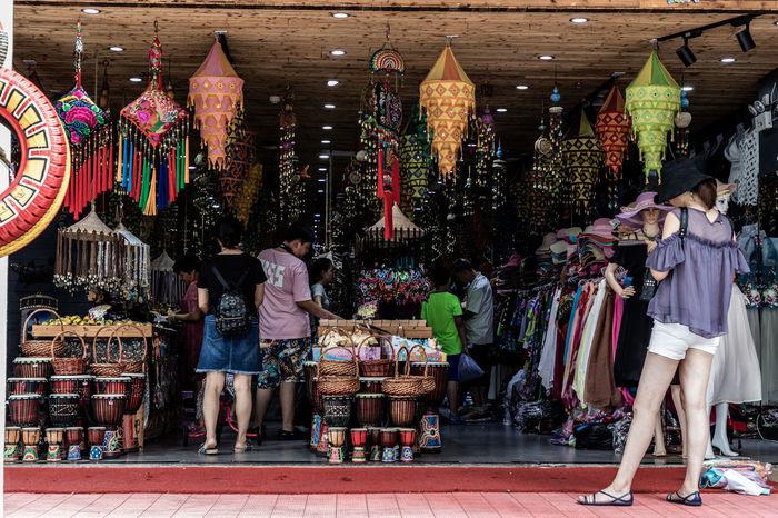EyeEmSelect WeekOnEyeEm Group Of People Market Market Stall Real People Retail  Retail Display Shopping Small Business Street Market Women