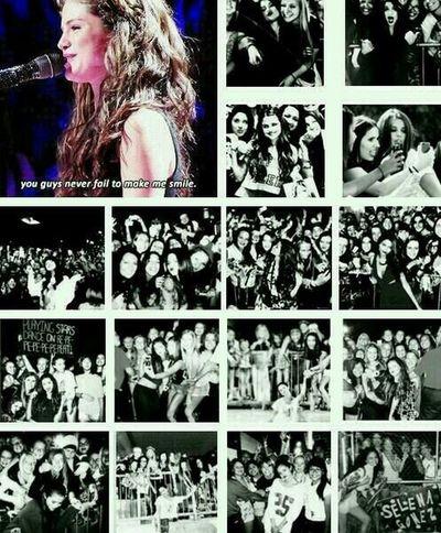 Selena Selena's Smile Selena With Selenators Selenators