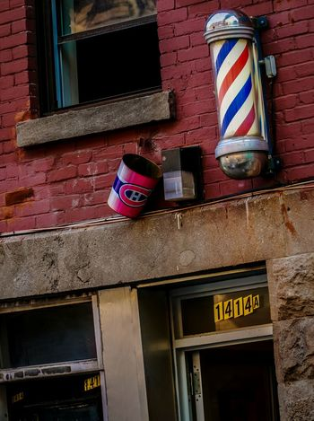 Barbershop Go Habs Go Eye4photography  Sony A6000 18-105mm From My Point Of View Taking Pictures Montréal Canadiens The Street Photographer - 2015 EyeEm Awards