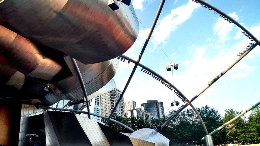 Chicago Jay Pritzker Pavilion Millenium Park
