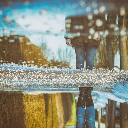 •REFLECTIONS• upsidedown Water Reflection Day Outdoors Austria Reflection Upside Down Upside Down Photography 180° Turnaround Puddle Puddleography Puddle Reflections Mirror Mirrorless Mirrored Fujifilm_xseries FUJIFILM X-T10 Samyang Samyang 50mm Whatsup! Outside Photography ArtWork