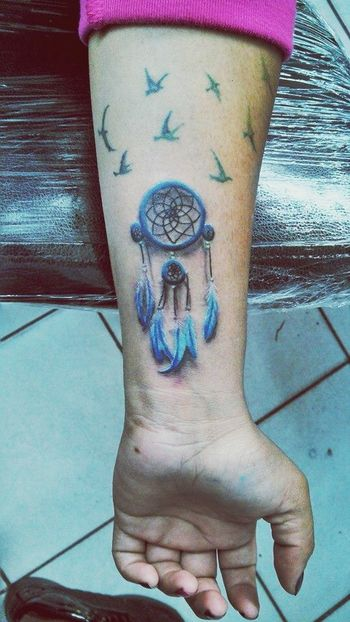 My dream catcher Tattoo My Favorite Tatt My Tattoo IloveIT ♡