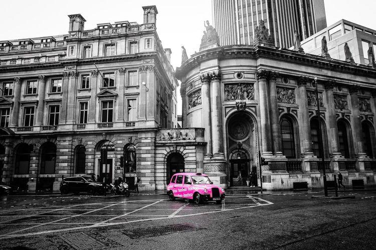 London in B&W.
