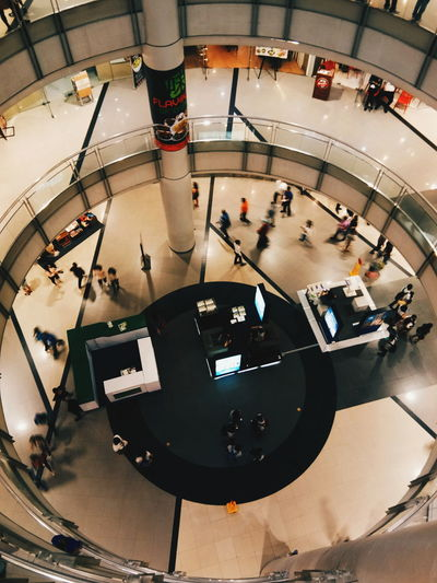 Mall hours People Indoors  High Angle View First Eyeem Photo