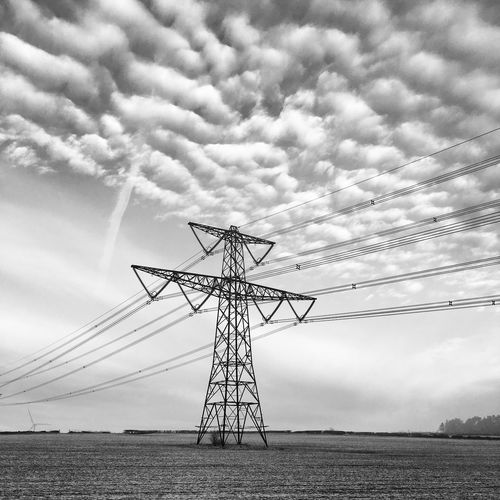 Cloud - Sky Connection Day Electricity  Electricity  Electricity Pylon Electricity Tower Grid Metal Nature No People Outdoors Power Power Line  Power Lines Power Supply Pylon Pylons Pylons And Power Lines Pylons And Powerlines Scenics Sky Technology