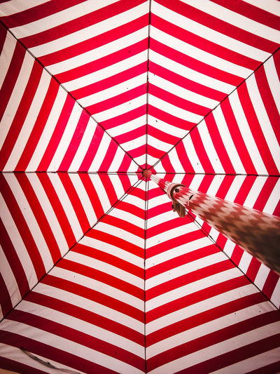 Patio Umbrella Umbrella Patio Abstract Abstract Photography Mobilephotography Color Colors Colorful Stripes Stripes Pattern EyeEmNewHere EyeEm Gallery Eye4photography  EyeEm Gallery Striped Pattern Indoors  Full Frame Red Day Close-up No People
