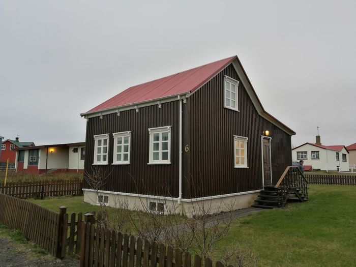 Iceland Built Structure Building Exterior Architecture Outdoors No People Day Iceland Memories Iceland_collection Architecture House