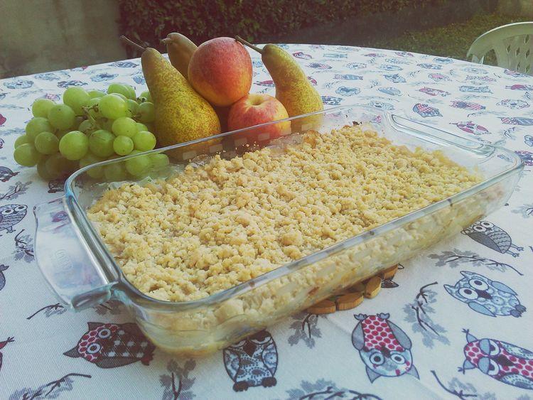 The desserts I make @solozuccheriacolazione.altervista.org Desserts Crumble Applepie