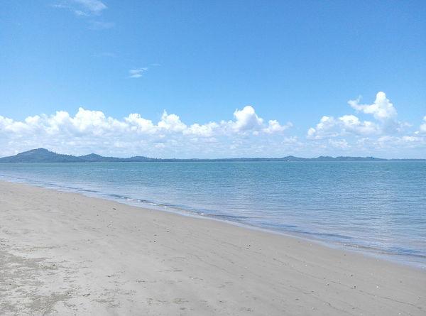 INDONESIA Indonesia Photography  Kalimantan Selatan Pagatanbeach Pagatan Beach Sea Sand Blue Cloud - Sky Sky Water