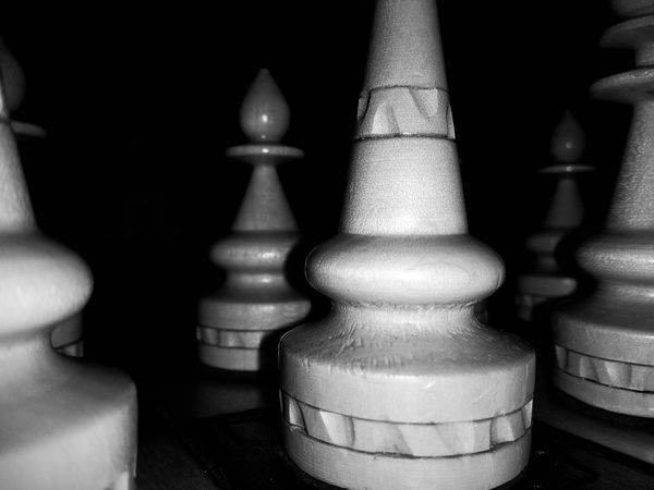 Game of Kings Chess Game Of Kings Blackandwhite Black & White Bw Game No People Chess Piece Close-up