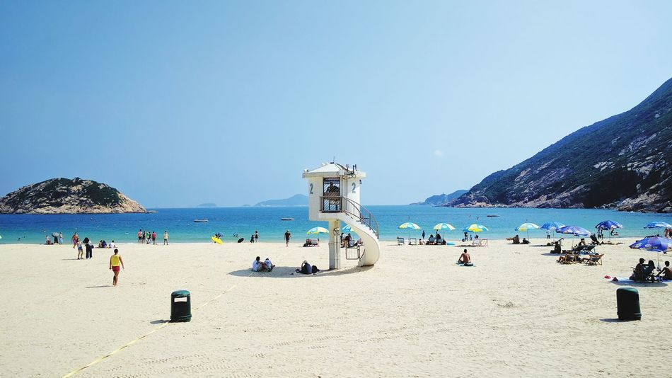 Beach Sand Vacations Summer Shore Clear Sky Beach Holiday Non-urban Scene Hanging Out Sea Relaxing Walking Around