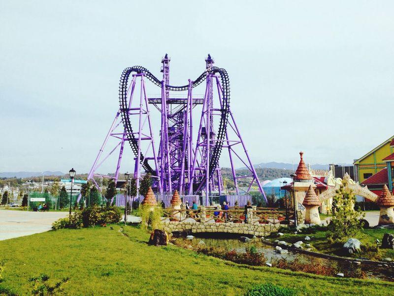 Парк развлечений Сочи-парк у Олимпийского парка город Сочи Россия интересно