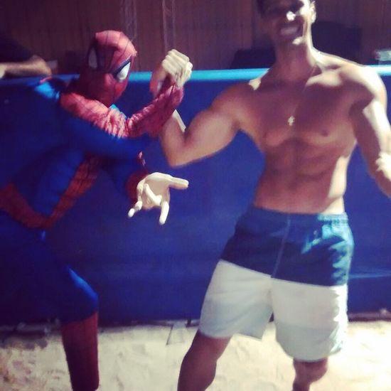 Encontrei os amigos 🤘🏻🤘🏻🤘🏻🤘🏻kkkkkk. Spiderman Homemaranha