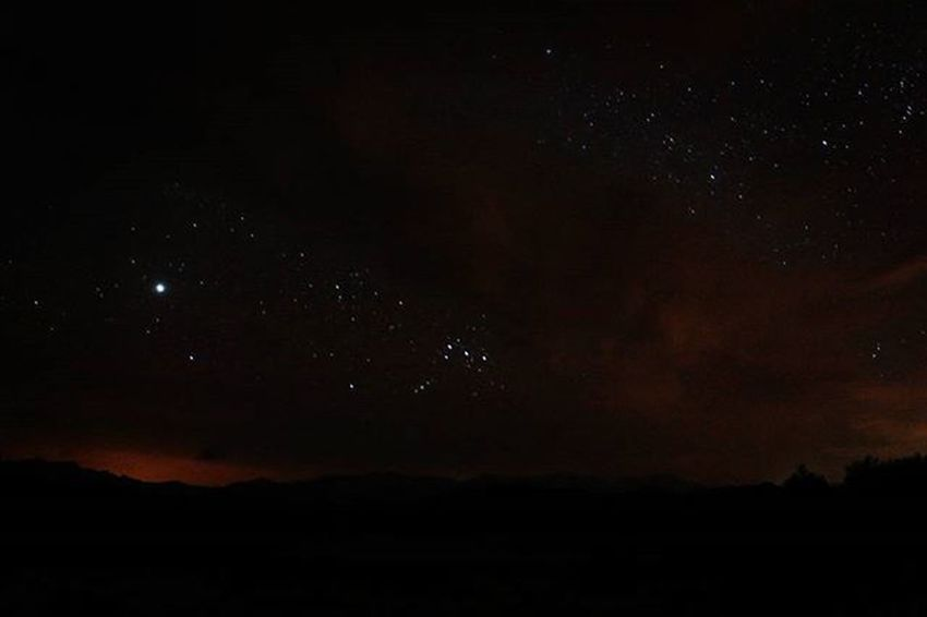 Clouds and stars... The shinny Sirius star is on the left. Landscape Stars Starynight Star Sky Cloud Desert