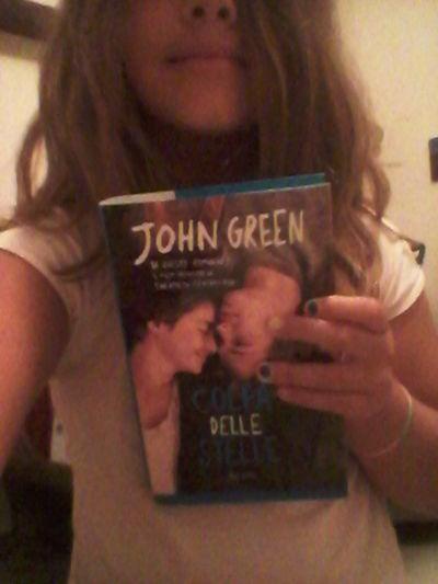 John Green Grazie Per Aver Scrittocolpa Delle Stelle, Mi Ha Fatto Ragionare Su Molte Cose...