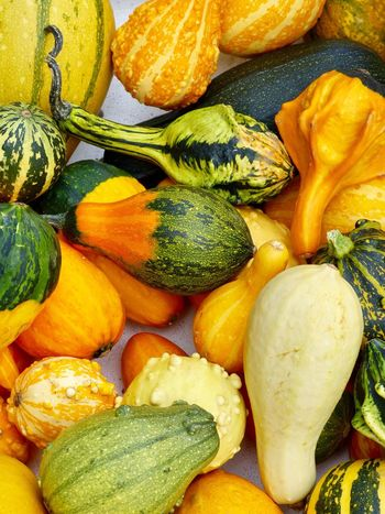 Gourdes Food And Drink Healthy Eating Gourd Freshness Fruit Yellow Orange Color Close-up Vegetable Markets Produce Produce Display Organic Choice Veggies Vegging Out Veggie Love Food Home Cooking