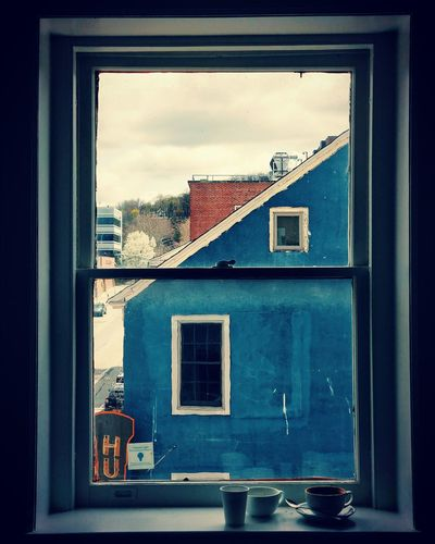 Coffee Window Coffee Old-fashioned Window Sky Architecture Building Exterior Built Structure Window Box Residential Structure Run-down Abandoned Façade The Still Life Photographer - 2018 EyeEm Awards